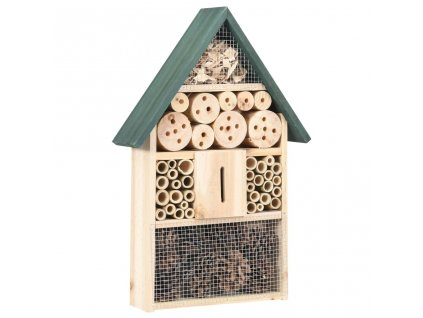 Hmyzí hotel 31 x 10 x 48 cm jedlové dřevo
