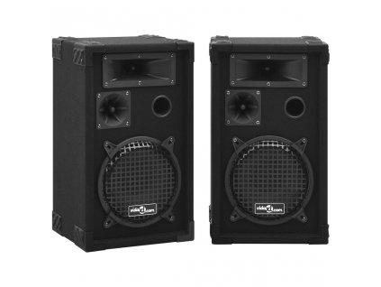 Profesionální pasivní reproduktory hi-fi 2 ks 800 W černé