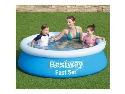 Bestway Fast Set Nafukovací bazén kruhový 183 x 51 cm modrý