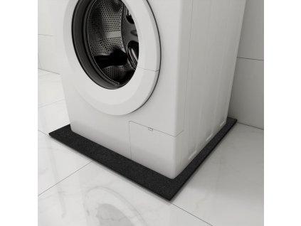 Antivibrační podložka pod pračku černá 60 x 60 x 0,6 cm
