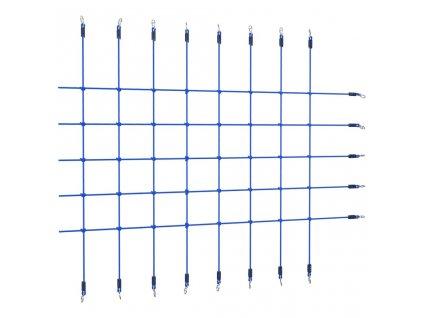 Síť na šplhání 200 x 150 cm modrá
