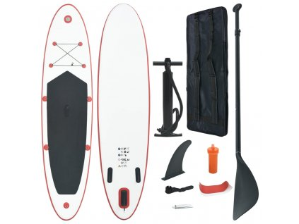 Nafukovací Stand Up paddleboard (SUP) červeno-bílý