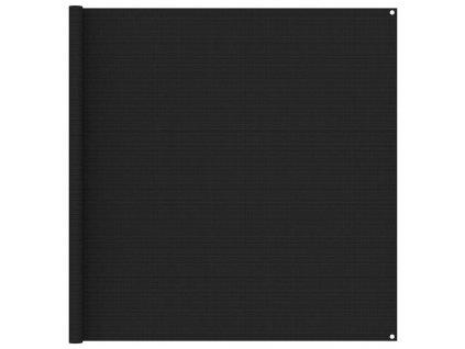 Koberec ke stanu 200 x 200 cm černý