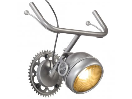 Nástěnná lampa Jízdní kolo železo