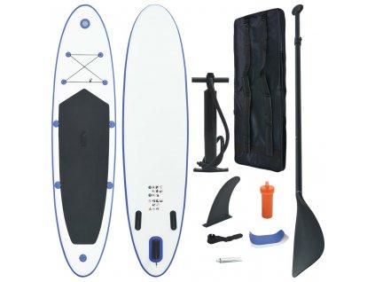 Nafukovací Stand Up paddleboard (SUP) modro-bílý