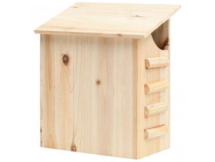 Budka pro netopýry masivní jedlové dřevo 30 x 20 x 38 cm