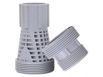 2dílné plastové konektory pro bazénové hadice