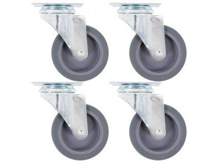 Otočná kolečka 4 ks 75 mm