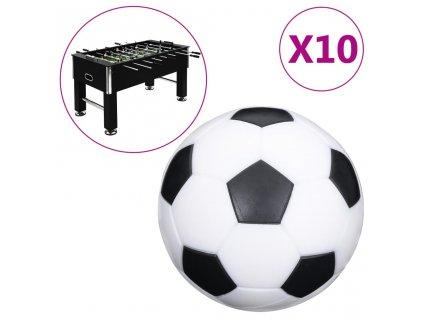 Míčky pro stolní fotbal 10 ks 32 mm ABS
