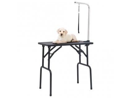 Nastavitelný stůl na stříhání psů s 1 smyčkou