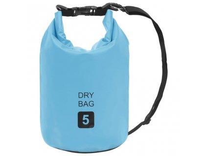Nepromokavý vak modrý 5 l PVC