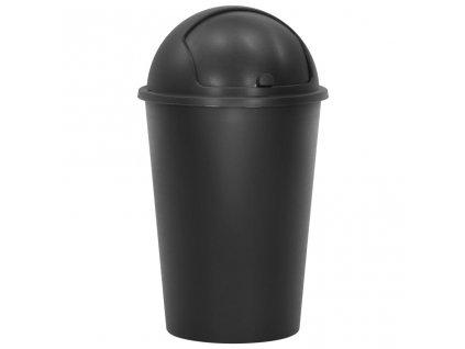 Odpadkový koš černý 50 l