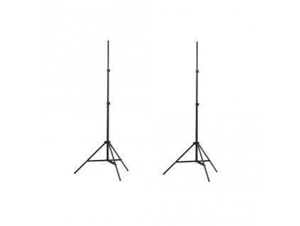 Stativ / stojan na světlo - 2 ks - výška 78 - 205 cm