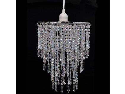 Křišťálový lustr - 22,5 x 30,5 cm