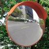 Dopravní vypouklé zrcadlo PC plast oranžové 45 cm venkovní