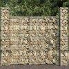 Gabionové koše 3 ks pozinkovaná ocel 25 x 25 x 197 cm