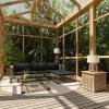 5dílná zahradní sedací souprava s poduškami polyratan šedá