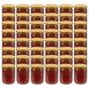 Zavařovací sklenice se zlatými víčky 48 ks 230 ml