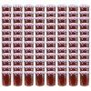 Zavařovací sklenice s fialovobílými víčky 96 ks 400 ml