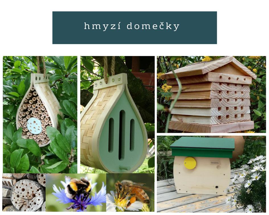 domečky pro užitečný hmyz