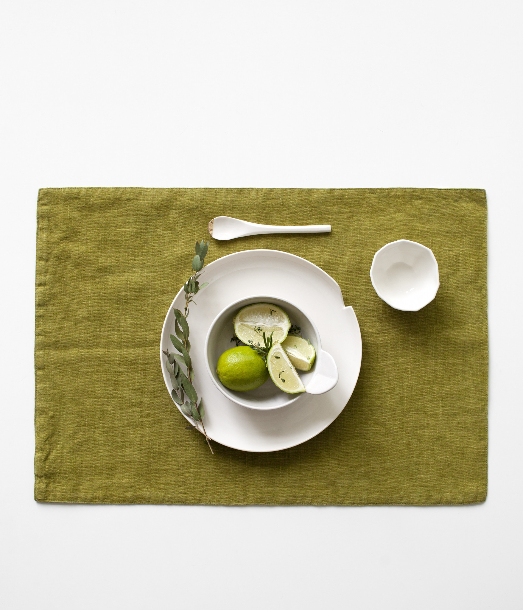 Moss green Placemat Sp