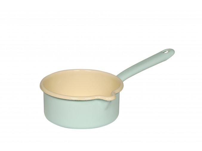 CLASSIC Pastell Bunt Stielkasserolle m gr Ausguss 14cm tuerkis 0036 006