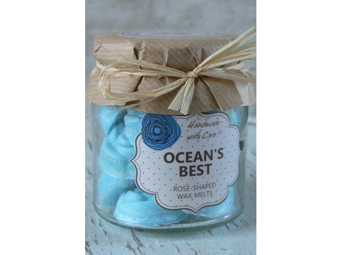 Oceán - vonný vosk v dárkovém balení - obsahuje 18 kusů