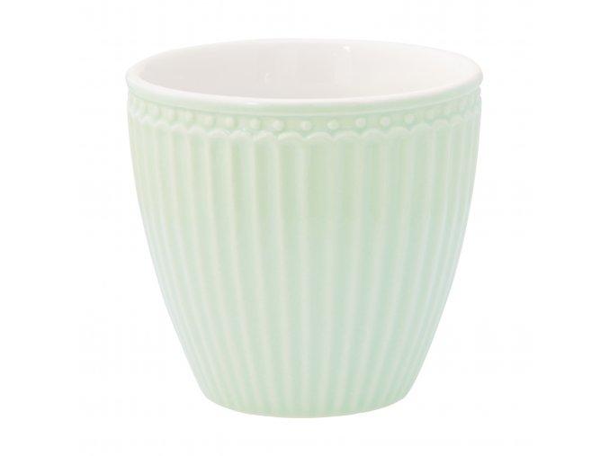 Latte šálek krémově zelený 300 ml