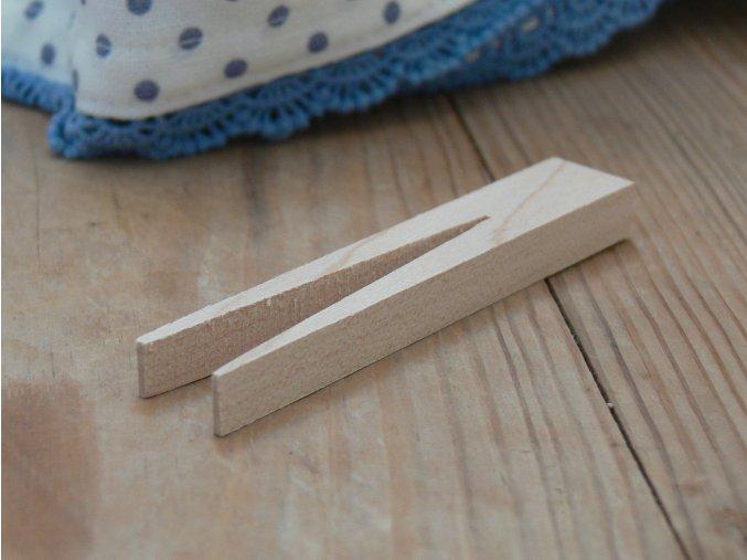 Dřevěný kolíček bukový malý
