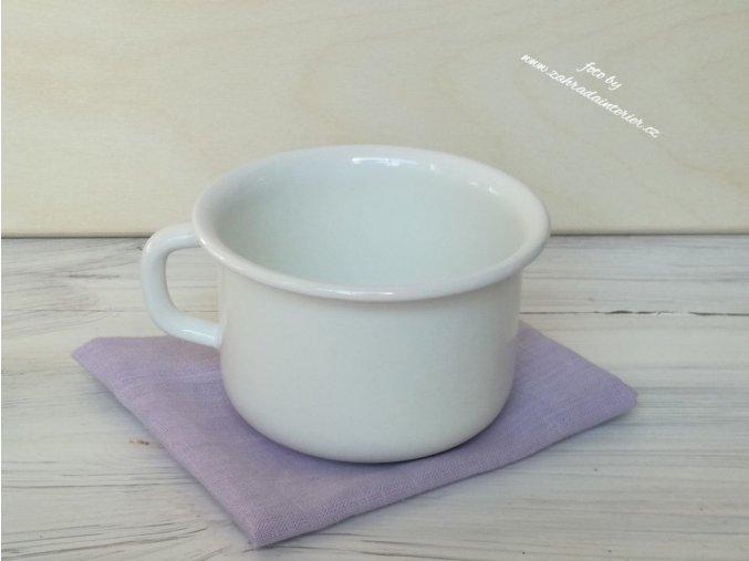 Smaltovaný šálek 400 ml