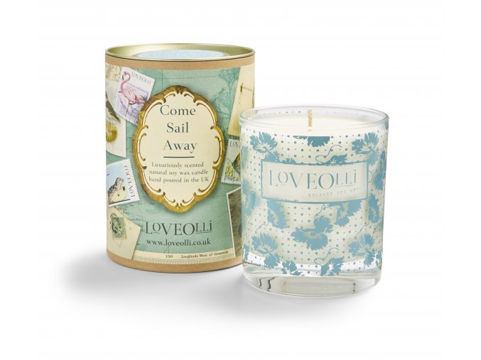 LoveOlli Come sail away candle co
