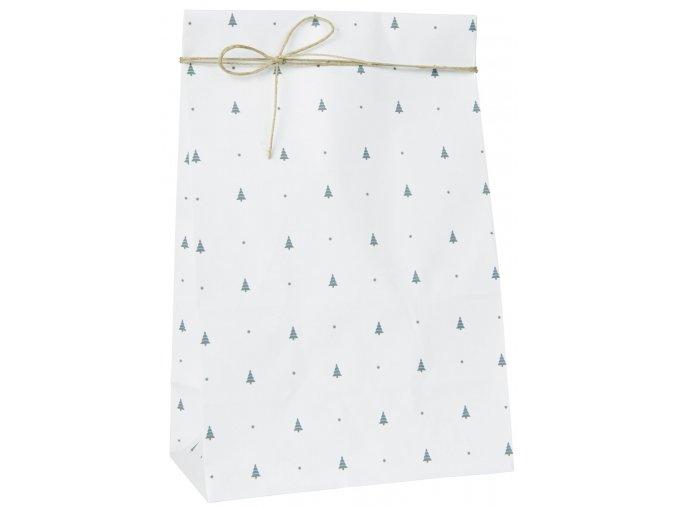 Papírový sáček stromek