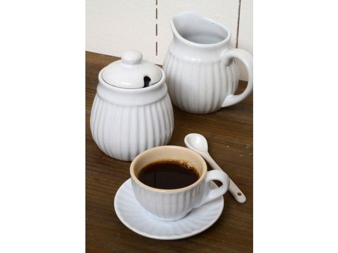 Šálek na kávu s podšálkem