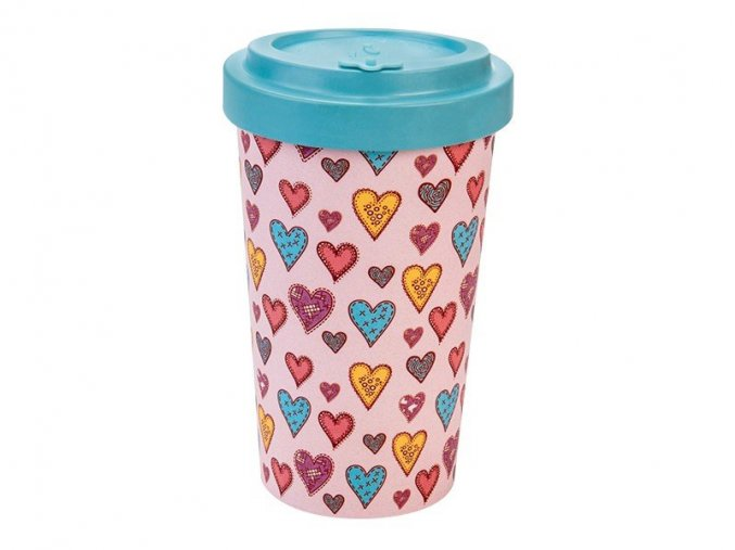 woodway opakovane pouzitelny kelimek na kavu z prirodniho materialu zelenadomacnost candy hearts