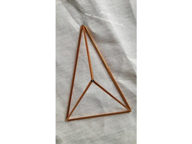 Himmeli ze skla  - pyramida