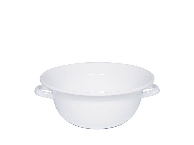 Smaltovaná mísa bílá 4 litry