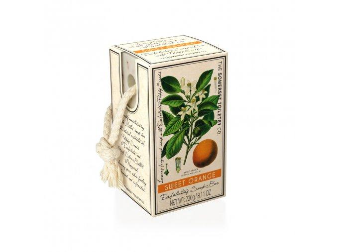 Peelingové mýdlo Sladký pomeranč 230 g