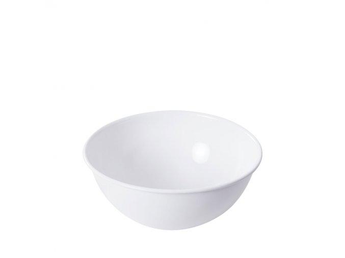 Smaltovaná mísa bílá 4 l