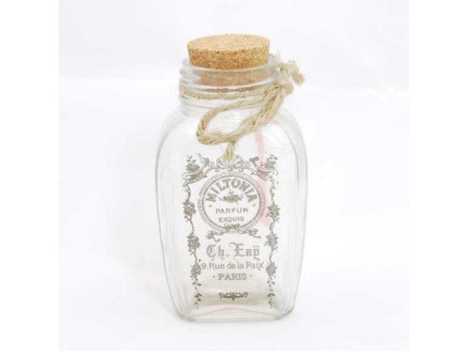 Skleněná lahvička