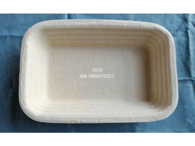 Forma na kynutí chleba 2,5 kg hranatá