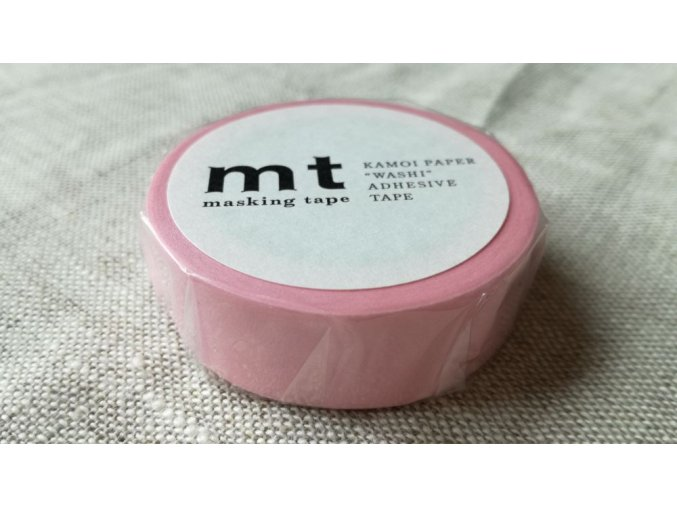 mt washi páska pastel pink
