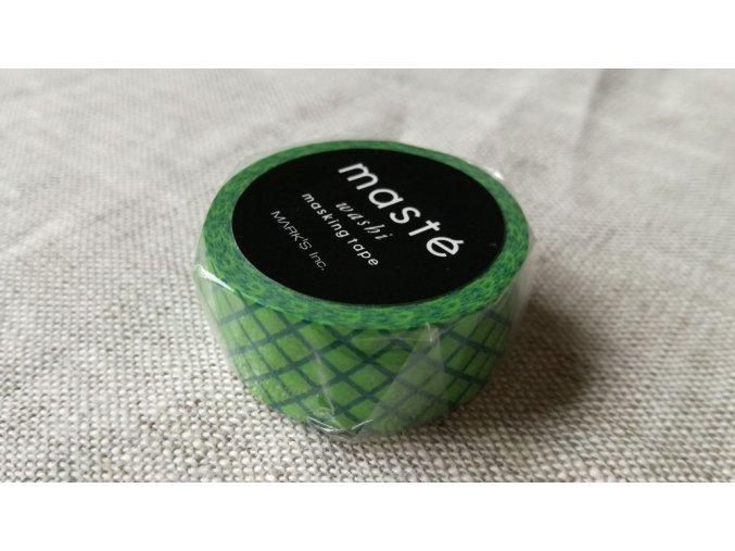 mt washi páska green stripe