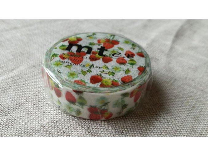 mt washi páska strawberry