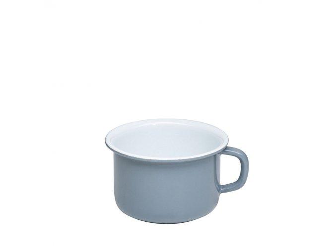 Smaltovaný šálek 400 ml grey