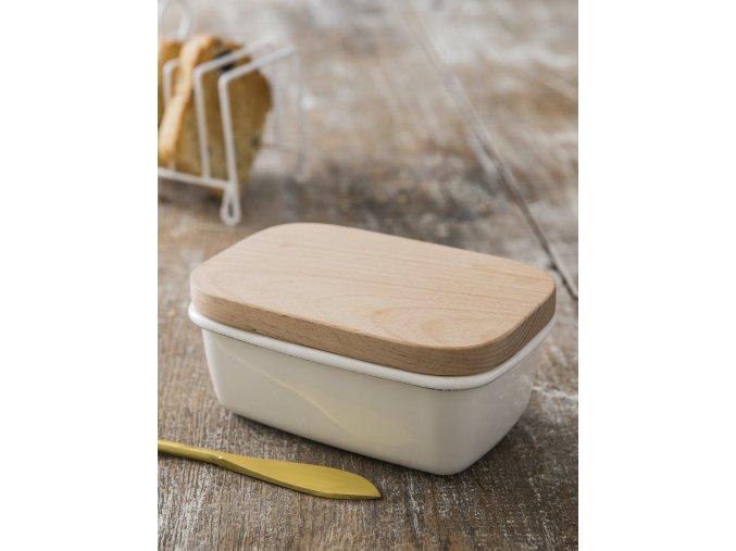 Enamel Butter Dish (1)