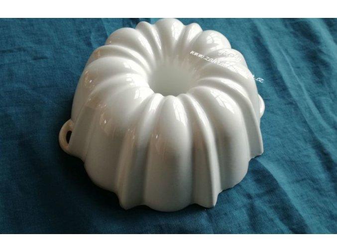 Litinová forma na bábovku bílá