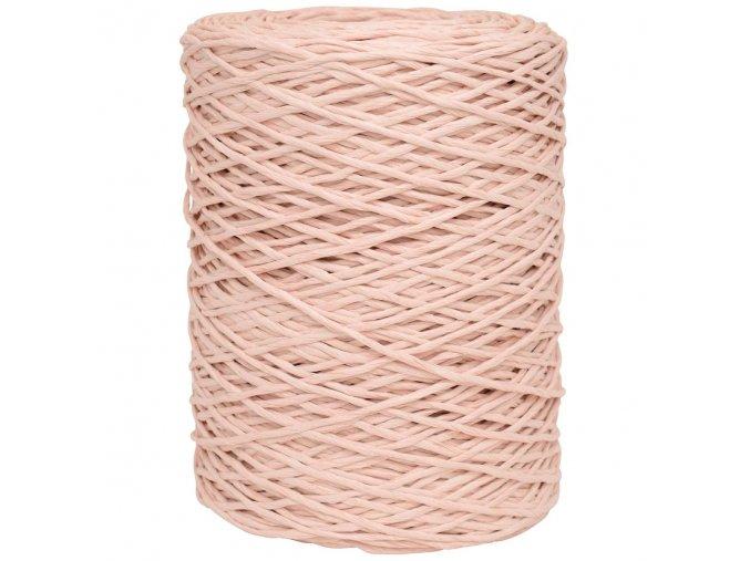 Papírový provázek růžový
