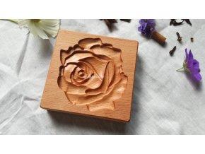 Forma s reliéfem květ růže