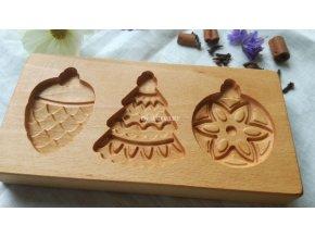 Forma na perník vzor vánoční ozdoby