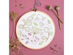 seedhead spray embroidery kit 1